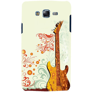 ifasho Modern Art Design Pattern Music Ins3Dument Guitar Back Case Cover for Samsung Galaxy J5