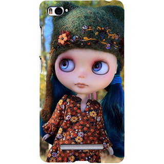 ifasho Cute Girl Back Case Cover for Redmi Mi4i