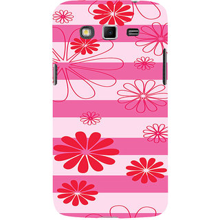 ifasho Modern Art Design animated cloth Pattern of flower Back Case Cover for Samsung Galaxy Grand