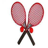 Marvel Civil War Beach Tennis Racket Set-Big Size