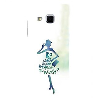 ifasho Quotes on shopping girls Back Case Cover for Samsung Galaxy J3