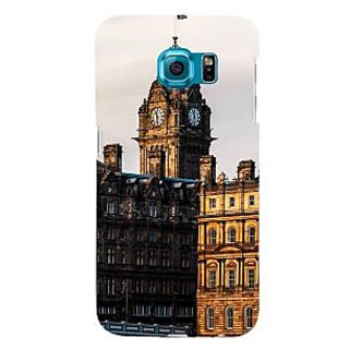 ifasho Historic Place of kolkata Back Case Cover for Samsung Galaxy S6 Edge Plus