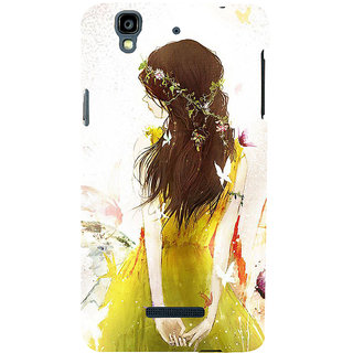 ifasho Princess painting Back Case Cover for YU Yurekha