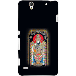 ifasho Tirupati Balaji Back Case Cover for Sony Xperia C4