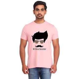 Snoby NO SHAVE NOVEMBER pink Printed T-shirt