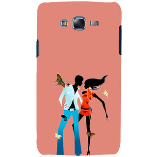 ifasho Boy and girl dancing Back Case Cover for Samsung Galaxy J5