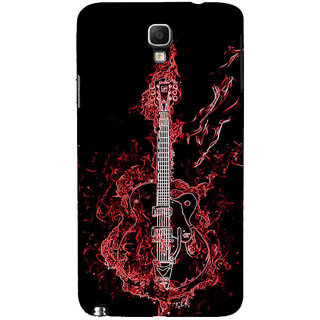 ifasho Animated  Guitar Back Case Cover for Samsung Galaxy Note3 Neo