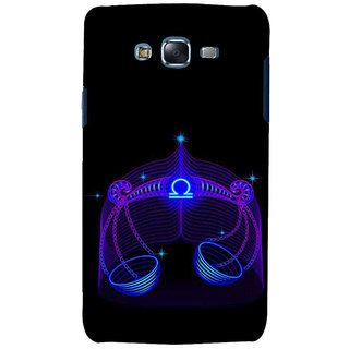 ifasho zodiac sign Libra Back Case Cover for Samsung Galaxy J7 (2016)
