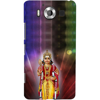 ifasho Lord Ayappa Back Case Cover for Nokia Lumia 950