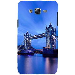 ifasho London Bridge Back Case Cover for Samsung Galaxy J7 (2016)