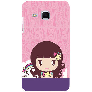 ifasho Cute Baby Back Case Cover for Samsung Galaxy J3