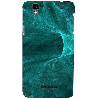 ifasho Design of smoke pattern Back Case Cover for YU Yurekha