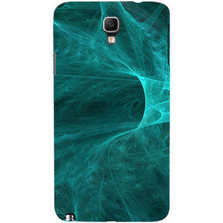ifasho Design of smoke pattern Back Case Cover for Samsung Galaxy Note3 Neo