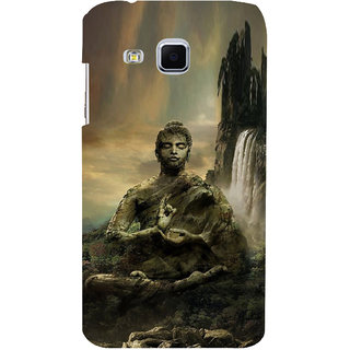 ifasho Lord Budha Back Case Cover for Samsung Galaxy J3