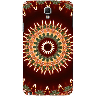 ifasho Animated Pattern design colorful flower in royal style Back Case Cover for Samsung Galaxy Note3 Neo