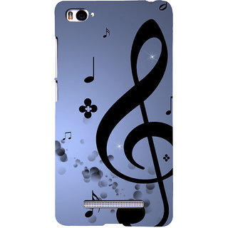 ifasho Modern Art Design Pattern Music symbol Back Case Cover for Redmi Mi4i