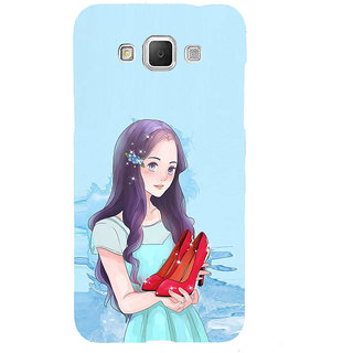 ifasho Girl with sandle in hand Back Case Cover for Samsung Galaxy Grand Max