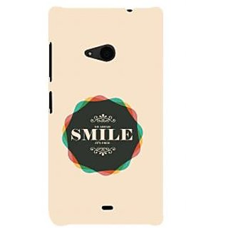 ifasho Nice Quote On beautiful Back Case Cover for Nokia Lumia 535