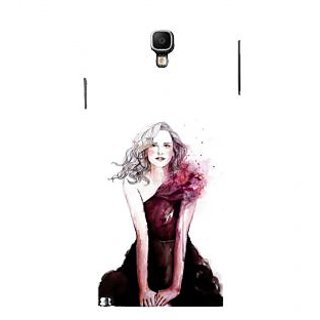 ifasho Cute Winking Girl painting Back Case Cover for Samsung Galaxy Note3 Neo