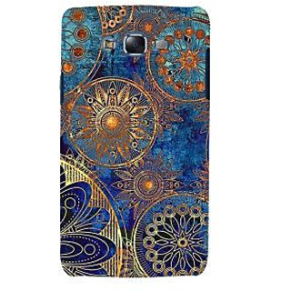 ifasho modern design in multi color aztec pattern Back Case Cover for Samsung Galaxy J5