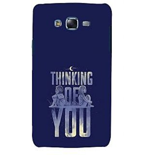 ifasho Thinking of you Back Case Cover for Samsung Galaxy J5
