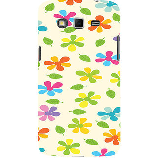 ifasho Animated Pattern flower with leaves Back Case Cover for Samsung Galaxy Grand