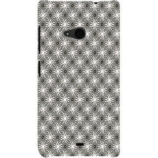 ifasho Animated Pattern Littel Flowers Back Case Cover for Nokia Lumia 535