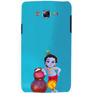 ifasho Lord Krishna stealing curd animated Back Case Cover for Samsung Galaxy J5
