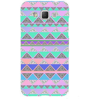 ifasho multi color 3Diangular Pattern Back Case Cover for Samsung Galaxy Grand3