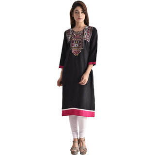 MADRINA Women's Straight  Kurta