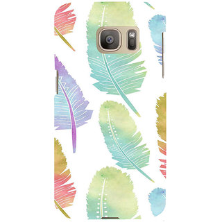 ifasho Animated  Feather Back Case Cover for Samsung Galaxy S7 Edge