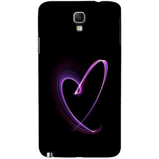 ifasho Modern Art Design heart animated Back Case Cover for Samsung Galaxy Note3 Neo