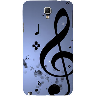 ifasho Modern Art Design Pattern Music symbol Back Case Cover for Samsung Galaxy Note3 Neo