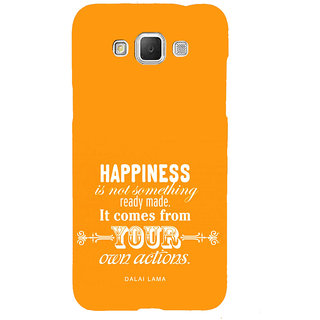 ifasho Faith  Quote on happiness Back Case Cover for Samsung Galaxy Grand Max