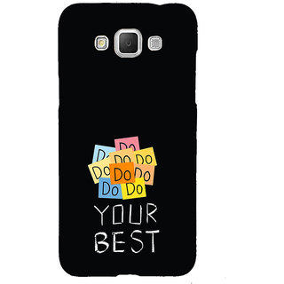 ifasho Do your best Back Case Cover for Samsung Galaxy Grand Max