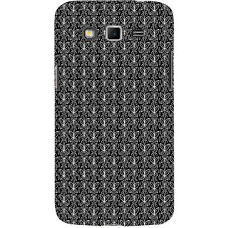 ifasho Animated Pattern black and white butterfly Back Case Cover for Samsung Galaxy Grand