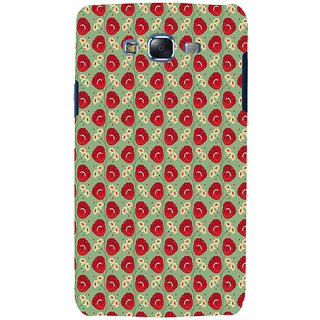 ifasho Animated Pattern flower with leaves Back Case Cover for Samsung Galaxy J5