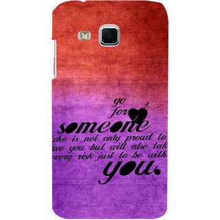 ifasho Love Quote Back Case Cover for Samsung Galaxy J3