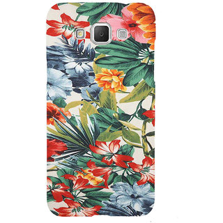 ifasho Animated Pattern colrful flower with leaves Back Case Cover for Samsung Galaxy Grand3