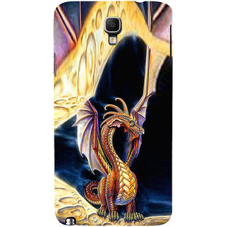 ifasho animated Dragon Back Case Cover for Samsung Galaxy Note3 Neo