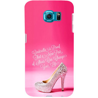 ifasho life changing quote Back Case Cover for Samsung Galaxy S6 Edge Plus