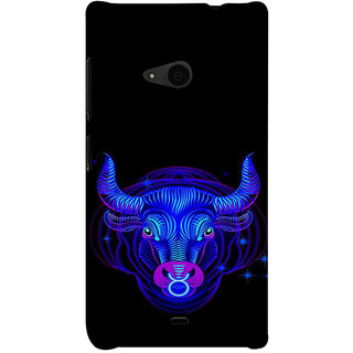 ifasho zodiac sign Taurus Back Case Cover for Nokia Lumia 535