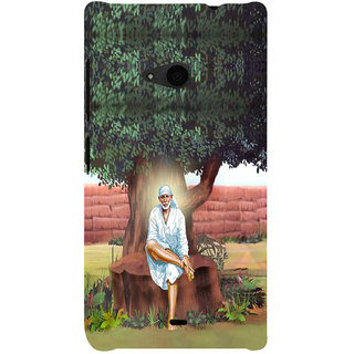 ifasho Shirdi wale Sai Baba Back Case Cover for Nokia Lumia 535