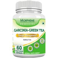Morpheme Garcinia Green Tea - 500mg Extract 60 Veg Caps