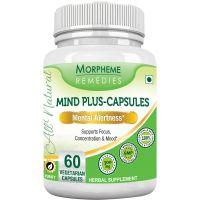 Morpheme Mind-Plus 500mg Extract 60 Veg Caps