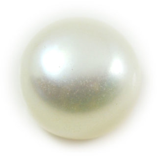 6.5 Ratti 5.96 Carat Natural Pearl Moti Round Shape Loose Gemstone For Astrological Purpose