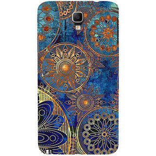 ifasho modern design in multi color aztec pattern Back Case Cover for Samsung Galaxy Note3 Neo