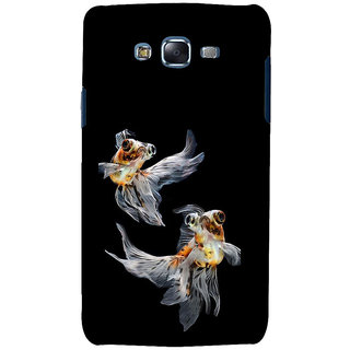 ifasho Fish in Blue See Back Case Cover for Samsung Galaxy J5