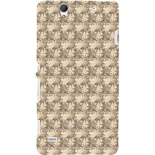 ifasho Modern Art Design animated cloth Pattern of star Back Case Cover for Sony Xperia C4
