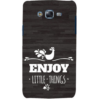 ifasho enjoy little things Back Case Cover for Samsung Galaxy J7 (2016)